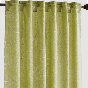 """PIER 1- Amelie 96"""" Curtains in Green"""